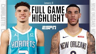 Charlotte Hornets vs. New Orleans Pelicans [FULL GAME HIGHLIGHTS] | NBA on ESPN
