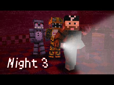 MINE Nights at Freddy's | Night 3 (Suit) | FNAF Minecraft Roleplay