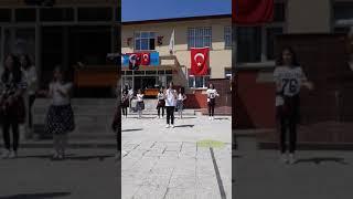 23 Nisan Kışla ortaokulu Aşka isyan dans