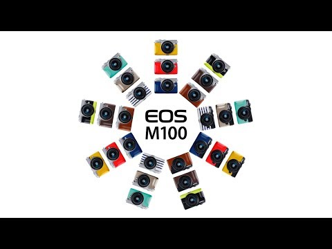 Official Canon EOS M100 Digital Camera Introduction