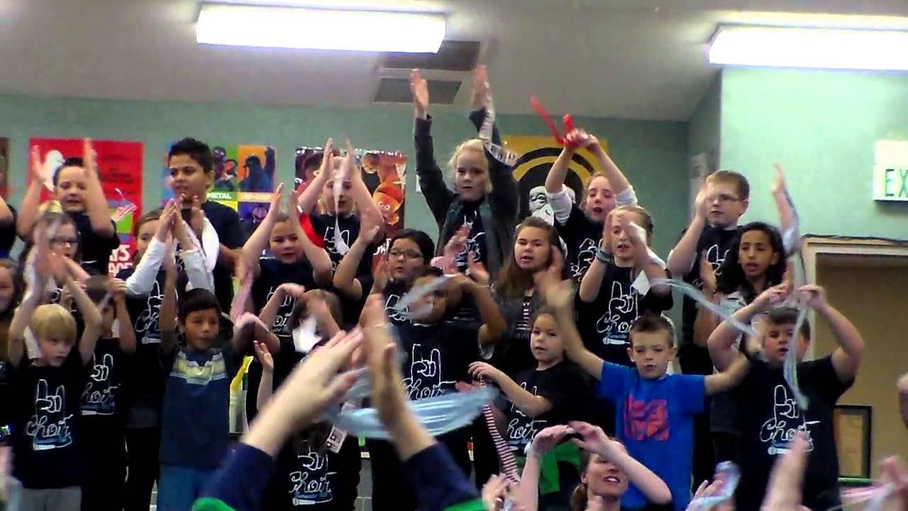 Wavin' Flag - Tumwater Hill Elementary