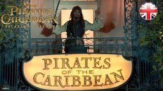 PIRATES OF THE CARIBBEAN | Salazar's Revenge - Johnny's Surprise | Official Disney UK