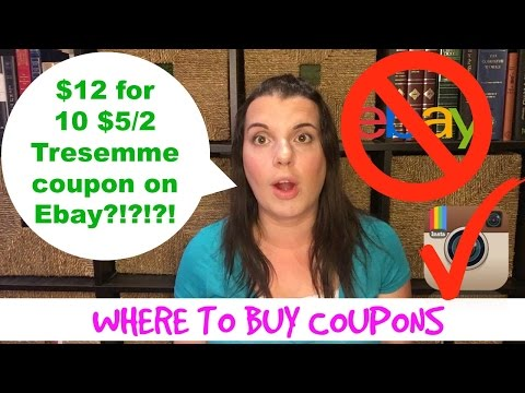 Where to Buy Coupons & Ebay Scams