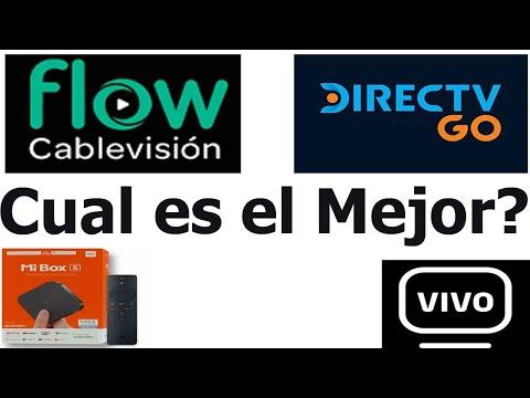 Cablevisión Flow Vs Directv Go En Una TV Box Xiaomi Mi Box ( Compramos Los Servicios!.)