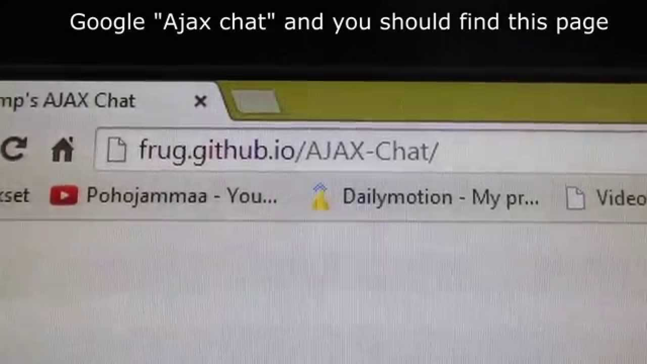 How to install Ajax chat to phpbb3 forum tutorial (English subtitles)
