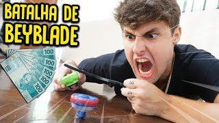 DISPUTA ÉPICA DE BEYBLADE !! ( VALENDO 500 R$ ) [ REZENDE EVIL ]