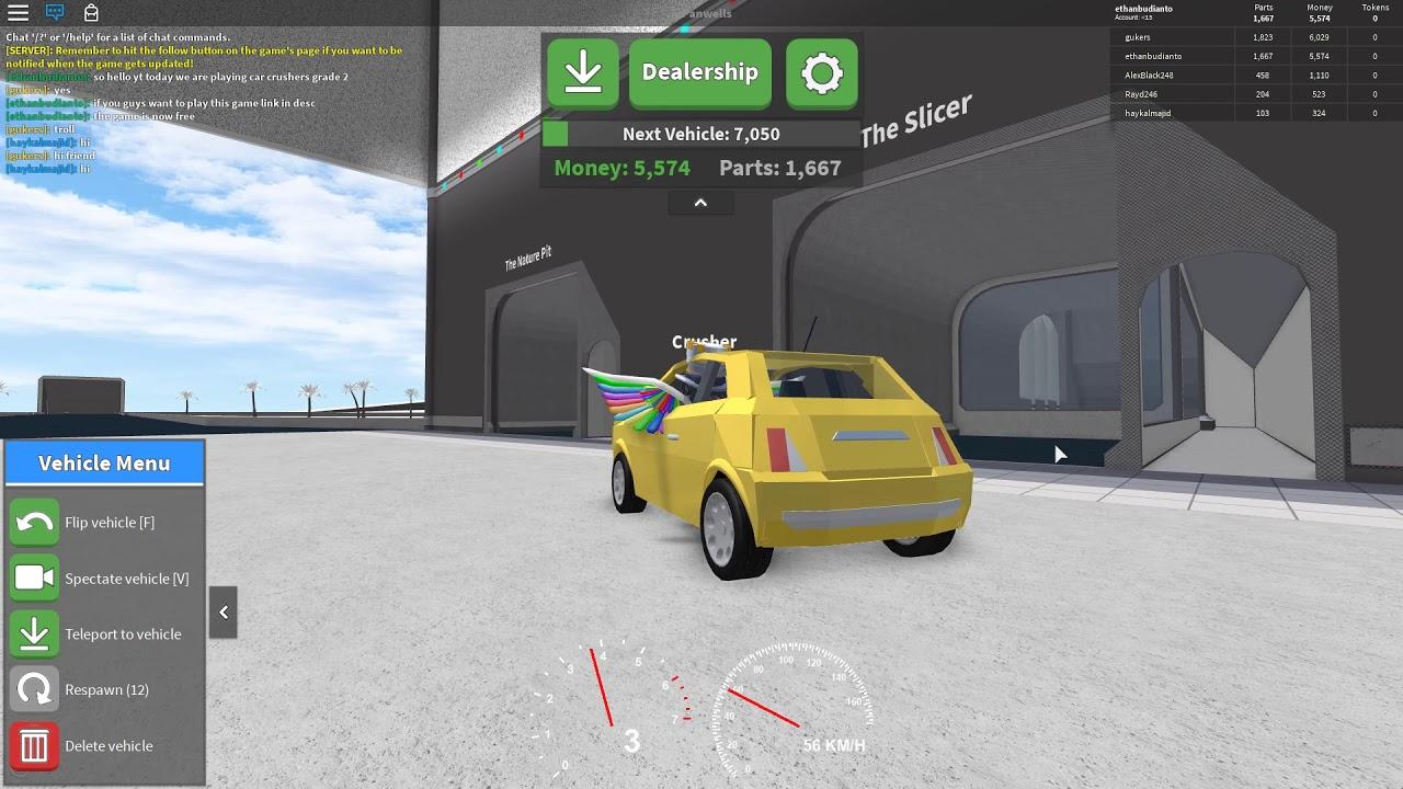 Car Crusher Roblox Ethan Gaming Cool Roblox Chat Tricks Discord
