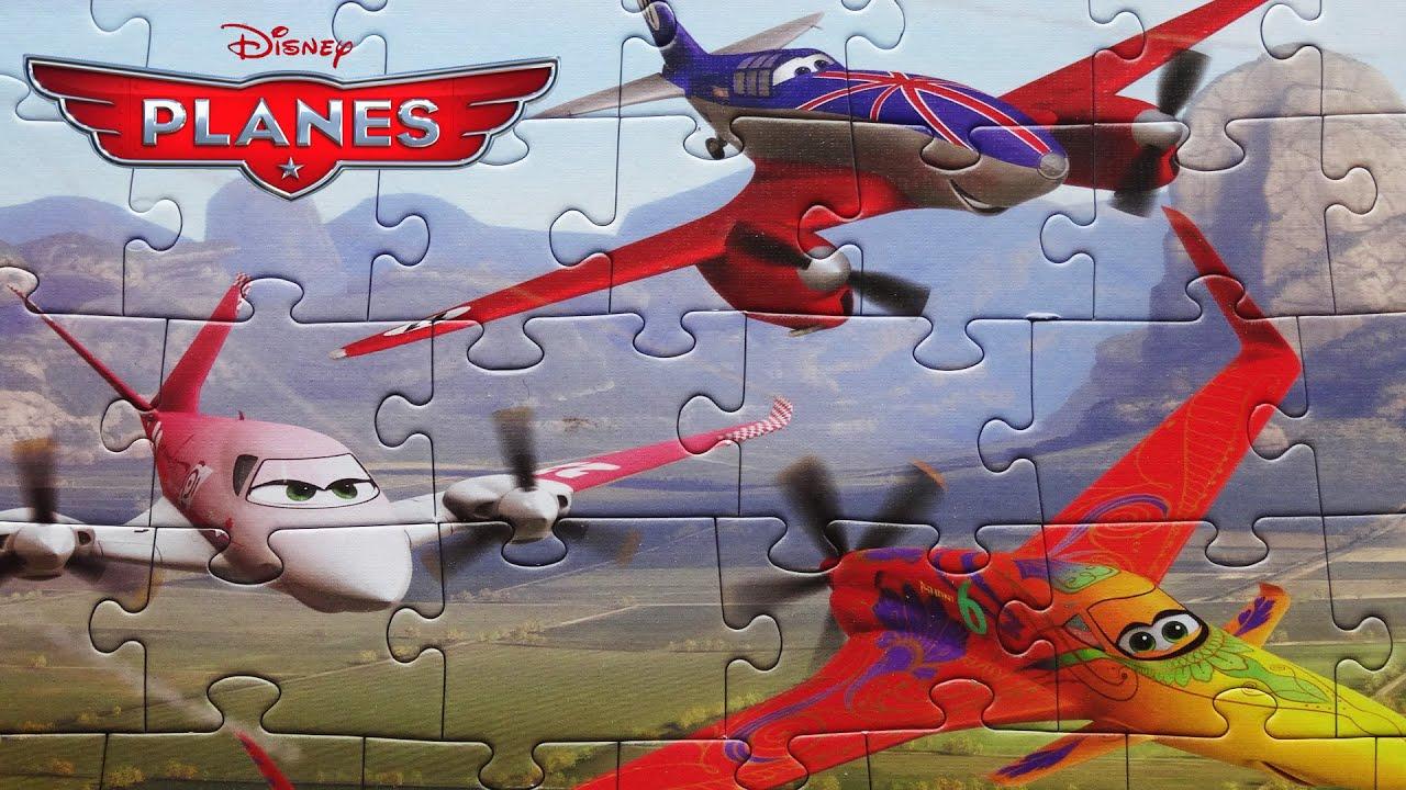 Planes Puzzle Disney Game Rompecabezas De Puzzles Kids Toys Puzzle Tv Dusty Rochelle Ishani Youtube