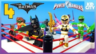 The Lego Batman Movie vs Power Rangers Shake Rumble Match with Blind Bag Minifigures | KIDCITY