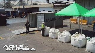 Autoridades colombianas incautaron en un puerto un cargamento de cocaína equivalente a $90 millones