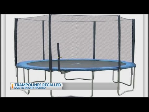 Deanna King - RECALL ALERT:  Trampolines Recalled For 'Posing Fall and Injury Hazards'