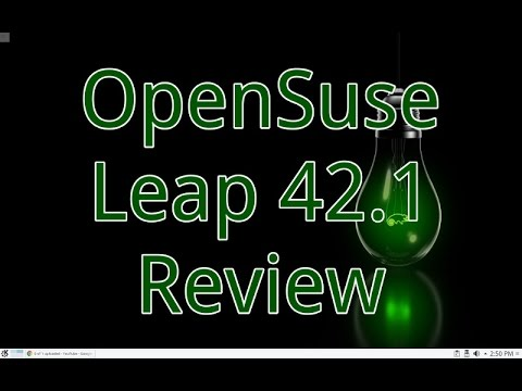 OpenSuse Leap 42 1 Review