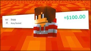Minecraft, but Lava Rises Every Minute \u0026 I Won...