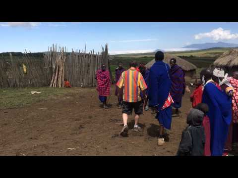 Invited to do #Maasai Jump Dance in #Ngorongoro Highlands-Zohar African Safaris