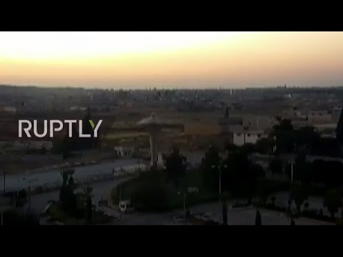 LIVE from Aleppo as Syrian army declares end to ceasefire