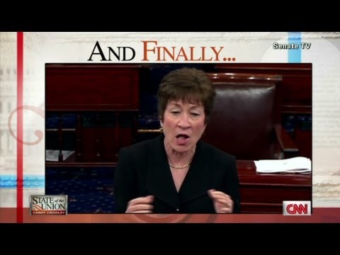 Maine Senator Susan Collins cast her 5,000th straight vote - State of the Union