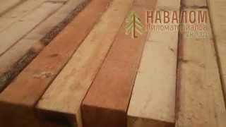 Деревянный брус и его применение, виды бруса