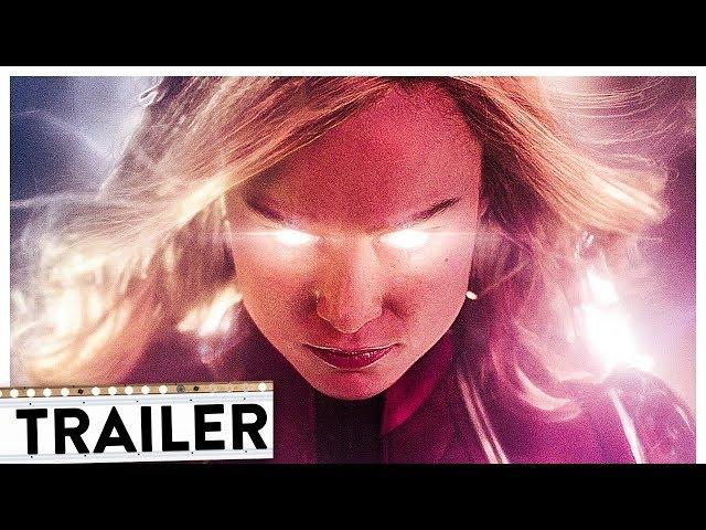 CAPTAIN MARVEL Teaser Trailer Deutsch German (HD) | Avengers 2019