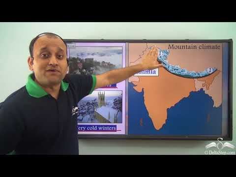 Climatic Zones Of India
