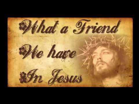 What A Friend We Have In Jesus- Bluegrass Gospel Hymn with Lyrics