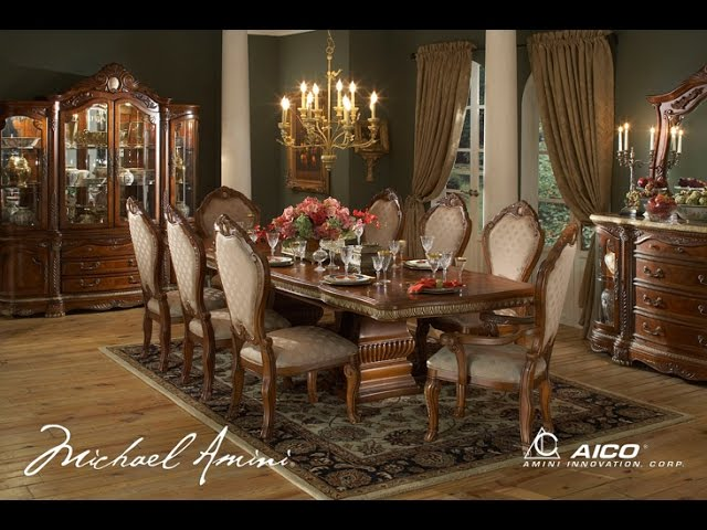 Cortina Dining Room Collection By Aico, Aico Cortina Dining Room Set