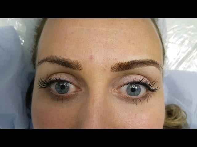 Restoration Microblading Eyebrows by El Truchan @ Perfect Definition