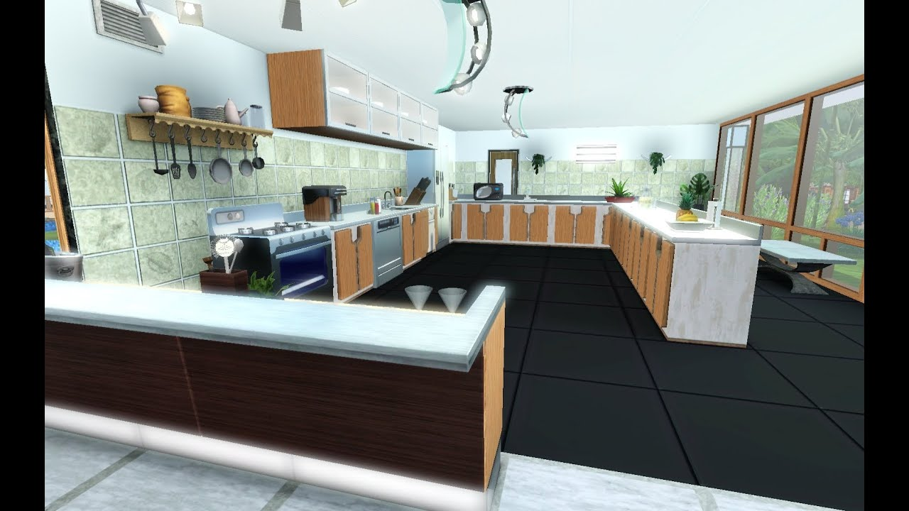 Les sims 3 la vie d 39 un architecte pisode 1 villa de r ve 1 6 youtube for Interieur maison de luxe