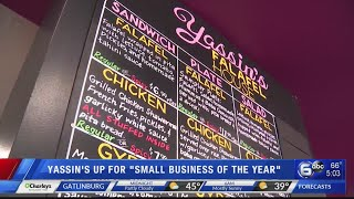 Yassin's, Strata-G up for Small Business of the Year