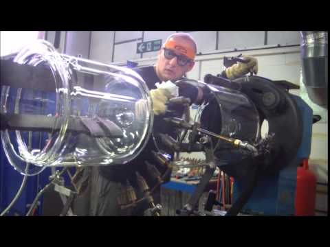 big glass blowing 20ltr vessel p1