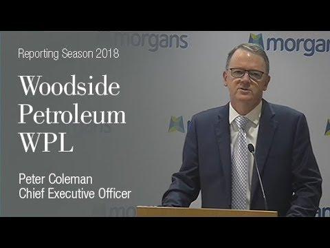 Woodside Petroleum (ASX:WPL):  Peter Coleman, Chief Executive Officer