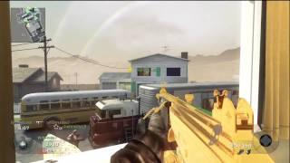 Black Ops- Gold Galil Gameplay Team Deathmatch on Nuketown