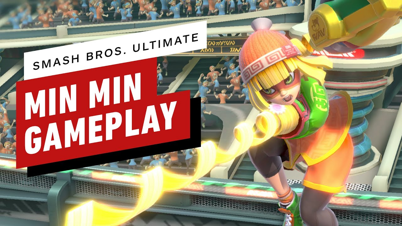 Super Smash Bros. Ultimate: 9 Minutes of Min Min Online Gameplay - IGN thumbnail