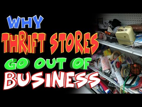 BIGGEST MISTAKE THRIFT STORE OWNERS MAKE (WHY THRIFT STORES CLOSE DOWN AFTER FIRST YEAR)