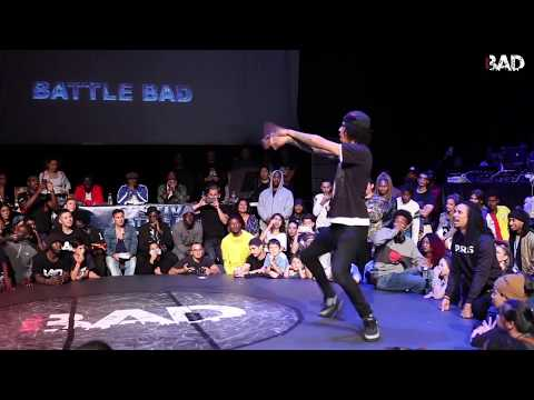 DYKENS vs LARRY LES TWINS - Battle BAD 2018 - HIP-HOP FINAL
