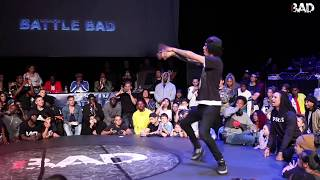 Dykens vs Larry Les Twins - Finał 1vs1 na Battle Bad 2018