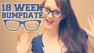 18 WEEK BUMPDATE - Braxton Hicks, Pillows, & A Stressful Anatomy Scan - Pregnant After Stillbirth