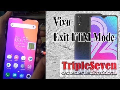 Vivo Exit FTM Mode