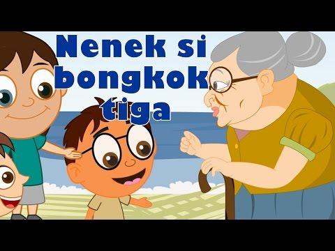 Lagu Kanak Kanak Melayu Malaysia   Nenek Si Bongkok Tiga