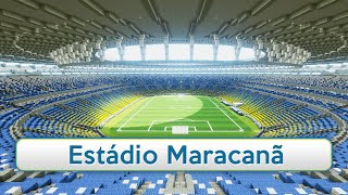 Minecraft - MEGABUILD - Maracanã (World Cup 2014) + DOWNLOAD [Official]
