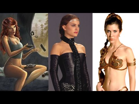 Sexiest Female Star Wars Costumes Cosplay Youtube