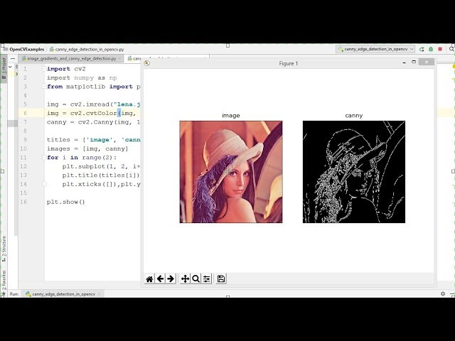 OpenCV Python Tutorial For Beginners 20 - Canny Edge