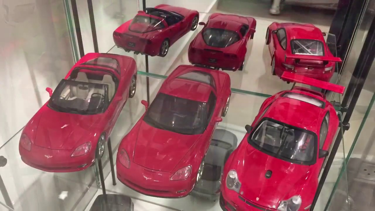 Download My 1:18 Car Collection - New Cabinet