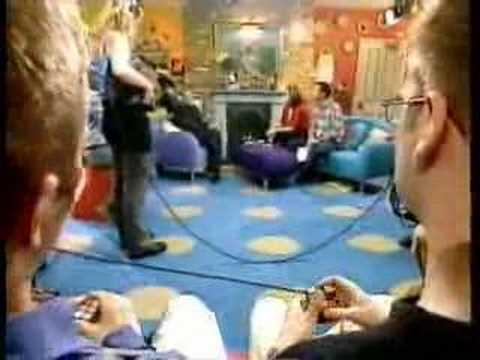 Erno Rubik on The Big Breakfast, 1999