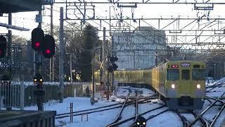 西武鉄道2033F+2543F 急行西武新宿行 萩山到着
