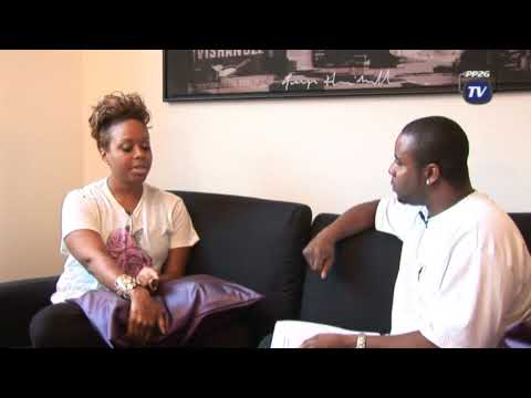 Chrisette Michele interview by PP2G