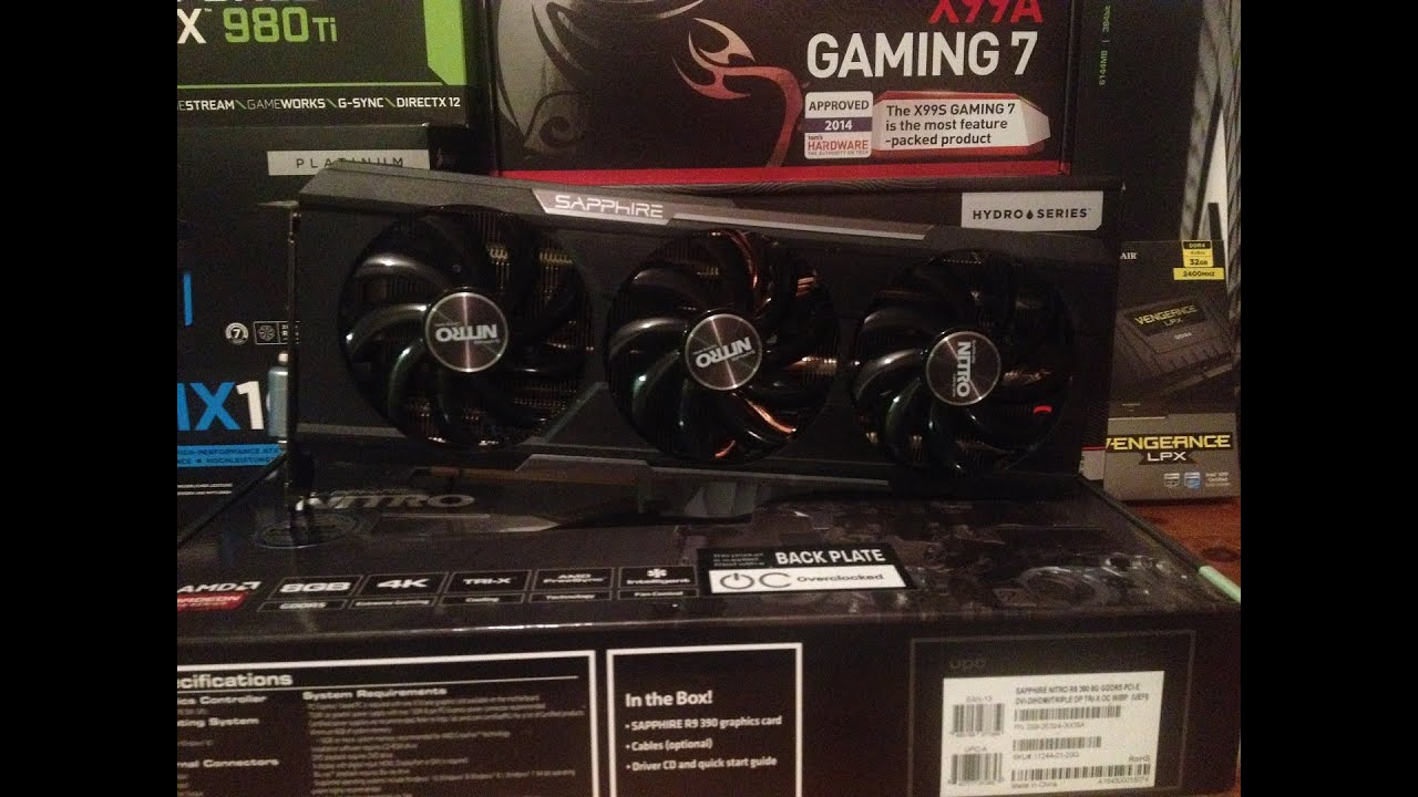 AMD Sapphire R9 390 Nitro 8GB Review