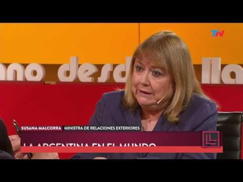 Susana Malcorra y la reunión entre Macri y Trump