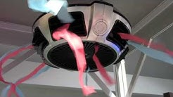 Ono Bladeless Ceiling Fan Cooling and Heating App Controlled: By Lori Young of the Weekend Handyman