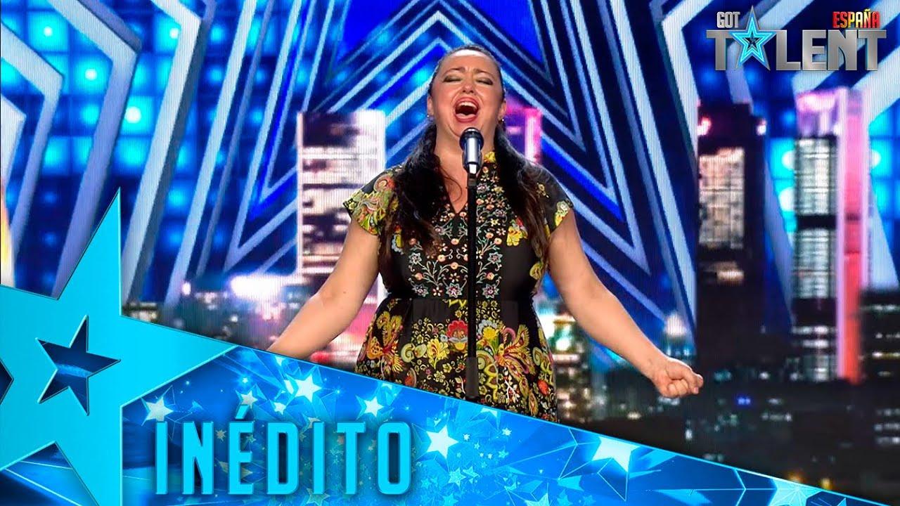 Esta CANTANTE actúa para superar la agorabofia que sufre | Inéditos | Got Talent España 2021