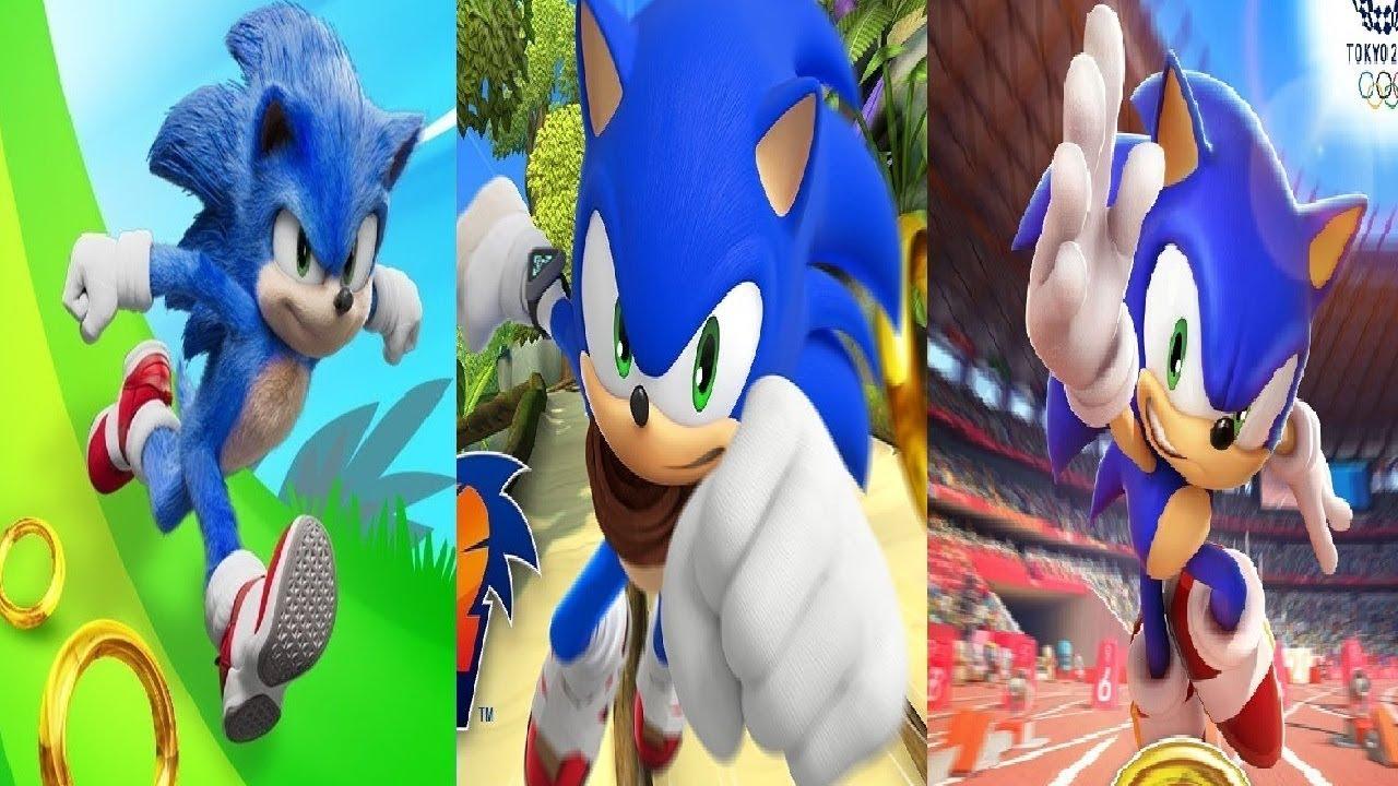 Sonic at the Olympic Games: Tokyo 2020 VS SONIC DASH VS ...
